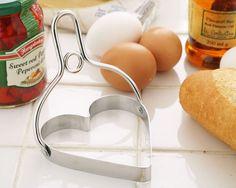 Egg/ Pan cake mold heart  エッグ/パンケーキモールド ハート