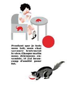 Mon Chat illustrated by Nathalie Parain. Reissued by Éditions MeMo. Vintage Vibes, Childrens Books, Illustrators, Art Drawings, Beautiful Pictures, Illustration Art, Comics, Picture Books, Kids