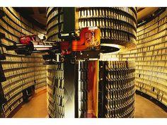 StorageTek 4400 ACS Tape Library, 1993 ca.