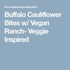 Buffalo Cauliflower Bites - these tangy spicy bites are a healthy snack meant for sharing (but you won't want to! Go ahead and chow down guilt free! Vegan Finger Foods, Vegan Snacks, Healthy Snacks, Healthy Eating, Vegan Buffalo Cauliflower, Cauliflower Recipes, Healthy Recipes For Diabetics, Vegan Recipes, Vegan Ideas
