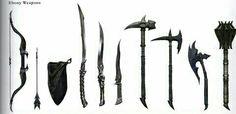 Skyrim - Ebony Weapons