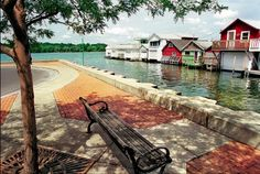 Canandaigua NY boathouses