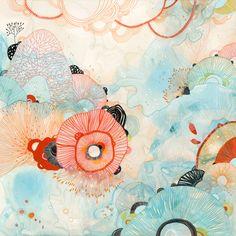 Silk - Painting by Yellena James art