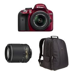 Nikon D3300 DX-format DSLR Kit w/ 18-55mm DX VR II & 55-200mm DX VR II Zoom Lenses and Case null http://www.amazon.com/dp/B018J472HM/ref=cm_sw_r_pi_dp_6PSOwb10WM3KQ