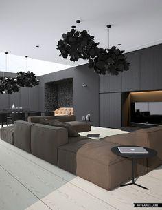 Beautiful Contemporary Apartment in Crimea // Vasiliy Butenko | Afflante.com