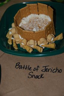 Life's a Bowl of Cherries: Joshua and the Battle of Jericho VBS Snack Craft