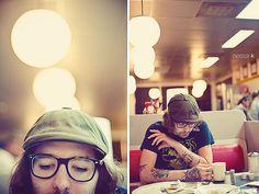 Waffle House. 3 a.m.