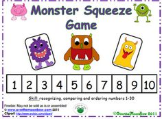 Students guess a number and every time they get it wrong, one of the end monsters comes in a little closer to the number they are trying to guess.(free on teachers notebook)