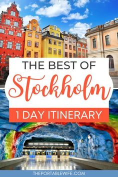 Discover the best things to do in Stockholm Sweden with this Stockholm itinerary. Spend one day in Stockholm exploring the city's famous museums, parks, and Stockholm Instagram spots. Includes Stockholm travel tips to help make the most of your Stockholm city break. | Europe travel tips | Europe travel guides | Sweden travel | Stockholm travel bucket lists | Sweden itinerary | Stockholm places to visit | Stockholm Gamla Stan | #stockholm #europetravel