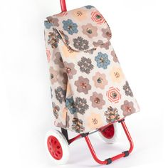 V&A quilted shopping trolley