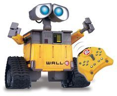 Disney Pixar's Wall-E U-Command Remote Control Robot | Top Latest New Tech And Cool Gadgets