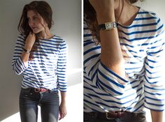 Saint James breton top. Apperently I have to go to France to get the perfect breton top...