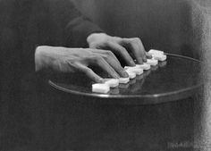 Man Ray, The Hands of Antonin Artaud, 1922