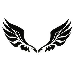 ZIQIAO Car Stickers for Rearview Mirror with Angel Wings – Black – Best Wallpaper New Tattoos, Body Art Tattoos, Small Tattoos, Tattoos For Guys, Tatoos, Wing Tattoo Men, Wing Tattoo Designs, Tribal Wings, Black Angel Wings