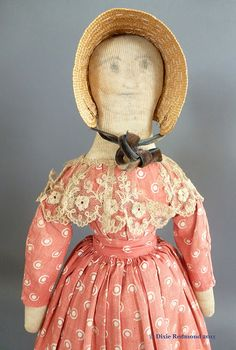 found on maidatoday.com - lots more about antique dolls here.