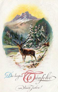 vintage card 1932
