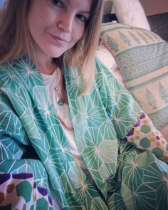 Spring is coming  am loving my new malachite print #kimomo #screenprinted on #organic #cotton and with earth friendly inks  Preparing for our SS_17 shoot. New collection coming soon