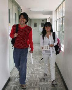 Estudiantes sede Candelaria.