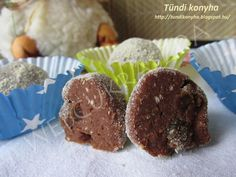 puncsgolyó Muffin, Cookies, Chocolate, Breakfast, Food, Crack Crackers, Biscuits, Meal, Cookie Recipes