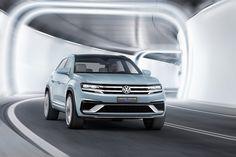 Volkswagen Cross Coupe GTE Concept 2015