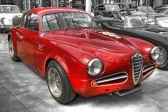 Alfa Romeo 1900 CS2 Disco Volante Spider