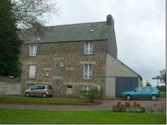 House for sale in Sourdeval, France : Substantial 5 bedroom village house, barn, garage & large garden.