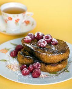 Pumpkin French Toast by isachandra, via Flickr