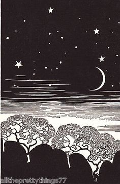 DON BLANDING -- Tree Moon Stars