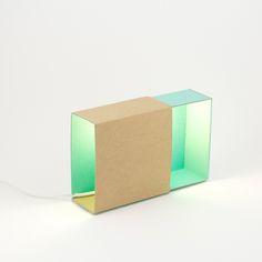 Lampe BOITE A LUMIERE -  LightOnline (37€)