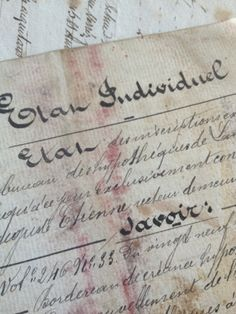 French Document Booklet - 1887 FleaingFrance