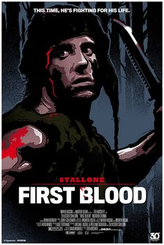 Rambo: First Blood by James White First Blood, James White, Great Films, Good Movies, Rambo 3, Andre Luis, Movies And Series, See Movie, Film Movie