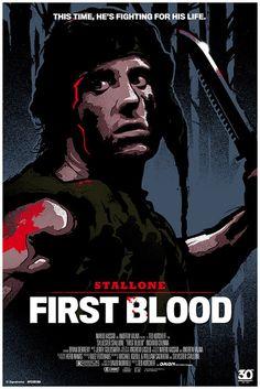 Rambo: First Blood by James White Rambo 3, John Rambo, James White, See Movie, Film Movie, Great Films, Good Movies, First Blood, Movies And Series