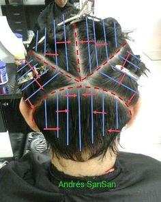 Hair Cutting Techniques, Hair Color Techniques, Hairstyles Haircuts, Haircuts For Men, Hair Cut Guide, Hair Color Placement, Haircut Tip, Hair Hacks, Short Hair Cuts