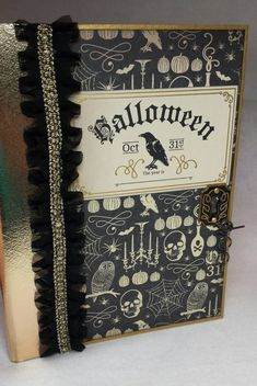Great Halloween Album with lots of interactive pages.  https://www.etsy.com/listing/245374205/halloween-mini-album