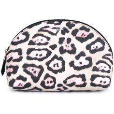 Givenchy Animal Print Make-Up Bag ($300) ❤ liked on Polyvore featuring beauty products, beauty accessories, bags & cases, bags, makeup, accessories, travel bag, makeup bag case, toiletry bag and cosmetic purse