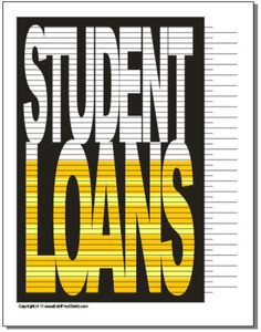 Student Loans Payoff Chart Debt Free Charts Financial Peace Goals Snowball