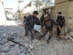 قتلى وجرحى مدنيون بقصف مدفعي لقوات النظام على قرية شمال حمص