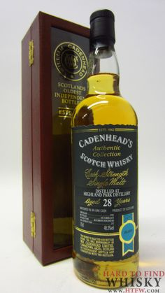 Highland Park Authentic Collection 1985 28 year old