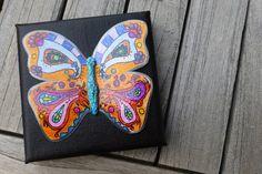 Collagen - KunstRaub 8 *geRIPpe* - Schmetterling - ein Designerstück von Evercool bei DaWanda