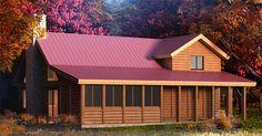 images about Log Homes on Pinterest Log cabin kits