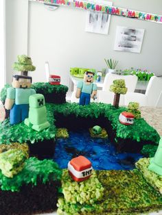 Mincraft cake