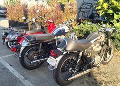 Deus Ex Machina : It's a lifestyle! #DeusExMachina #VeniceBoulevard #Venice #Motorcycles #Bikes #Triumph #TriumphBonneville #VintageBikes #VintageMotorcycles #Vespa #CaliforniaMotorcycles #RedVespa #GarageSocial