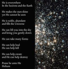 """Praise be unto """"He""""."""