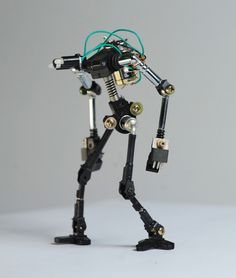 Gallery: Adorable mini robots built from recycled electronic guts | DVICE