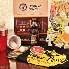 Parece que os clubes de itens cervejeiros estão virando moda! O que particularmente acho ótimo.  A caixa da vez é do clube @7publichouse!  Conheça o clube! | #Cerveja #CervejaArtesanal #Cervejeiro #Cervejas #CervejasArtesanais #Beer #Beers #CraftBeers