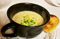 It's National Soup month! A perfect time of year for a hot bowl of goodness! The rest of the month will be soups that are simple enough for a week-night dinner! And to start the parade …
