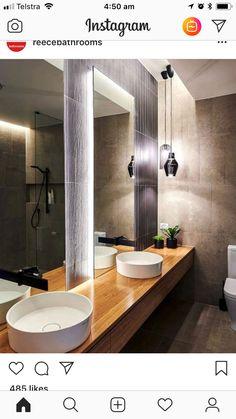 Hanglampen in badkamer?