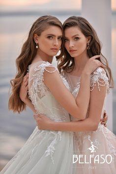 Bridal collection Belfaso 2020 - wedding dress insp. Summer bride Girls Dresses, Flower Girl Dresses, Bridal Collection, Bride, Wedding Dresses, Summer, Fashion, Dresses Of Girls, Wedding Bride