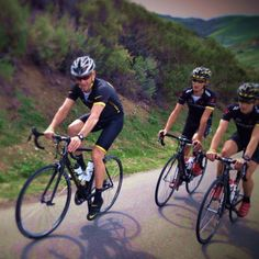 Lance Armstrong 2.22.12 training the under 23 Bontrager Cycling Team near Solvang, CA © Dave Lettieri
