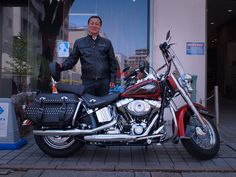 Harley Davidson Softail+U.S. Mufflers